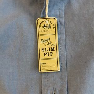 J. Crew Factory Shirts - J crew factory sun washed oxford slim fit new